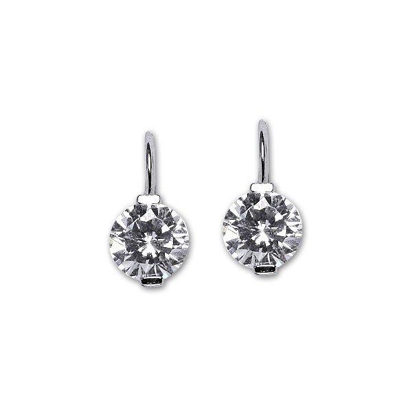 94238517b Naušnice strieborné E1461 crystal online | WebSperky.sk