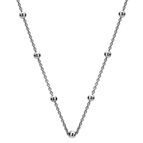 Strieborná retiazka Hot Diamonds Emozioni Silver Cable with Ball Chain 18