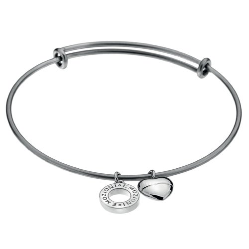 Oceľový náramok Hot Diamonds Emozioni Silver Bangle DC107