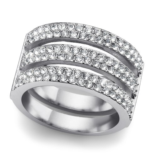 Prsteň s krištáľmi Swarovski Oliver Weber Index 41115R 95d1b41f0e5