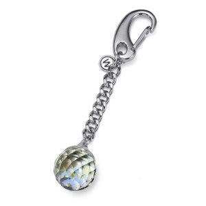 Prívesok na kľúče s krištáľmi Swarovski Oliver Weber Feng Shui AB Crystal  57143-001 b2fe3e455da