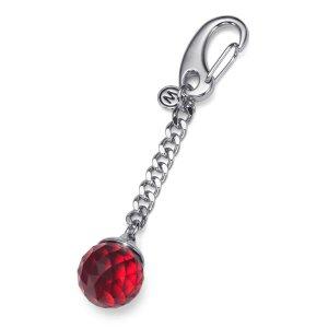 Prívesok na kľúče s krištáľmi Swarovski Oliver Weber Feng Shui Red 57143-RED b58e5f21eb6