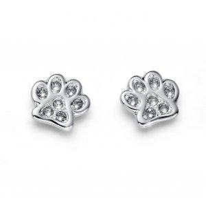 dc54cbcc9 Náušnice s krištáľmi Swarovski Oliver Weber Pawy bl. diamond ...