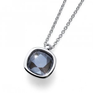 Prívesok s krištáľmi Swarovski Oliver Weber Royal simple grey